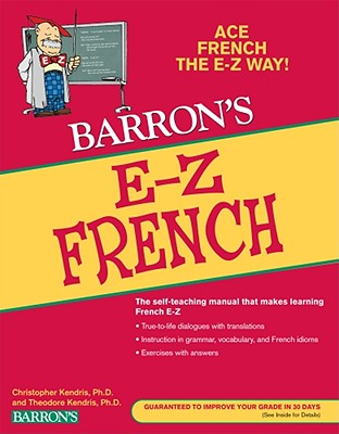 Barron's E-Z French By Kendris, Christopher/ Kendris, Theodore